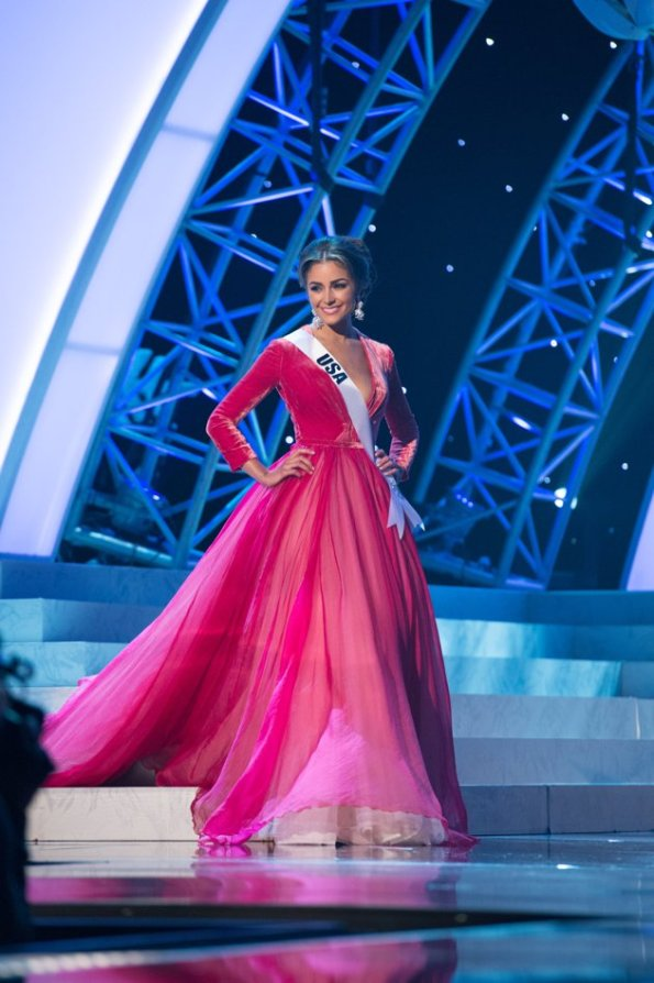 miss usa Olivia Culpo miss universe 2012 night dress