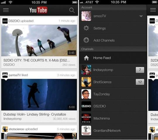 YouTube 6 Best iPhone Apps of 2012